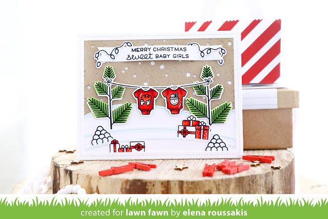 the Lawn Fawn blog: We Wish You a Very Fawny Holiday Week 2016 {day1}