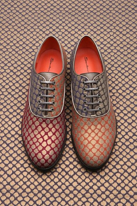 #Zapatos Santoni and Rubelli lace up #Shoes