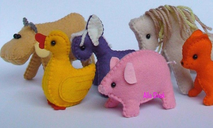 Farm animals, Waldorf felt toys, waldorf farm animals, eco friendly farm animals, waldorf toys, child's toy, donkey, by DevelopingToys on Etsy https://www.etsy.com/listing/229604859/farm-animals-waldorf-felt-toys-waldorf