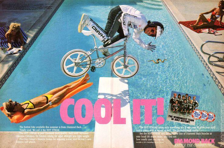 Diamond Back Hot Streak bike advertisement / (1985)