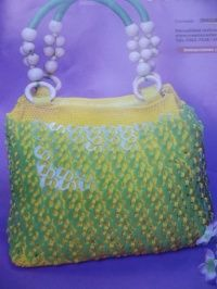 Curso de bolsas tejidas con fichas lacres por kangel