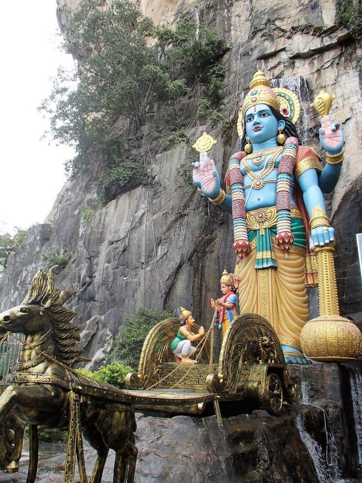 Malásia roteiro - Batu Caves templo Hindu