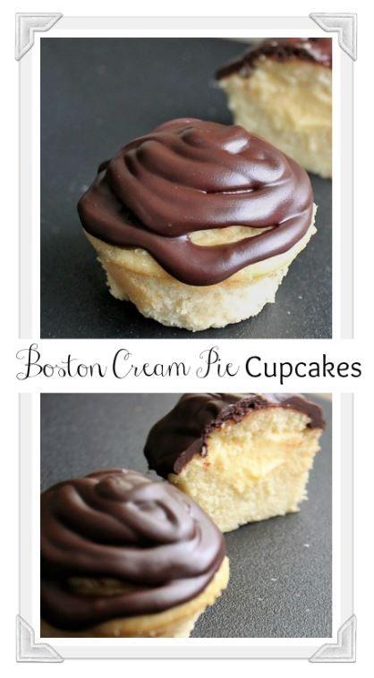 Fluffy vanilla cake, pastry cream, chocolate ganache - yum. MyRecipeReviews.com