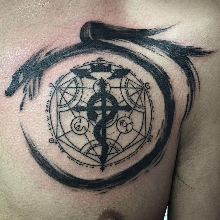 Full metal alchemist tattoo