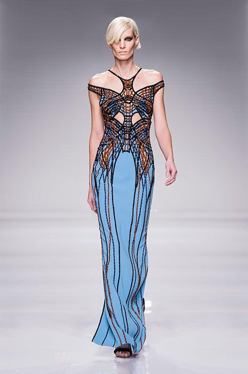 アトリエ ヴェルサーチ(Atelier Versace)2016Spring Haute Couture コレクション Gallery28