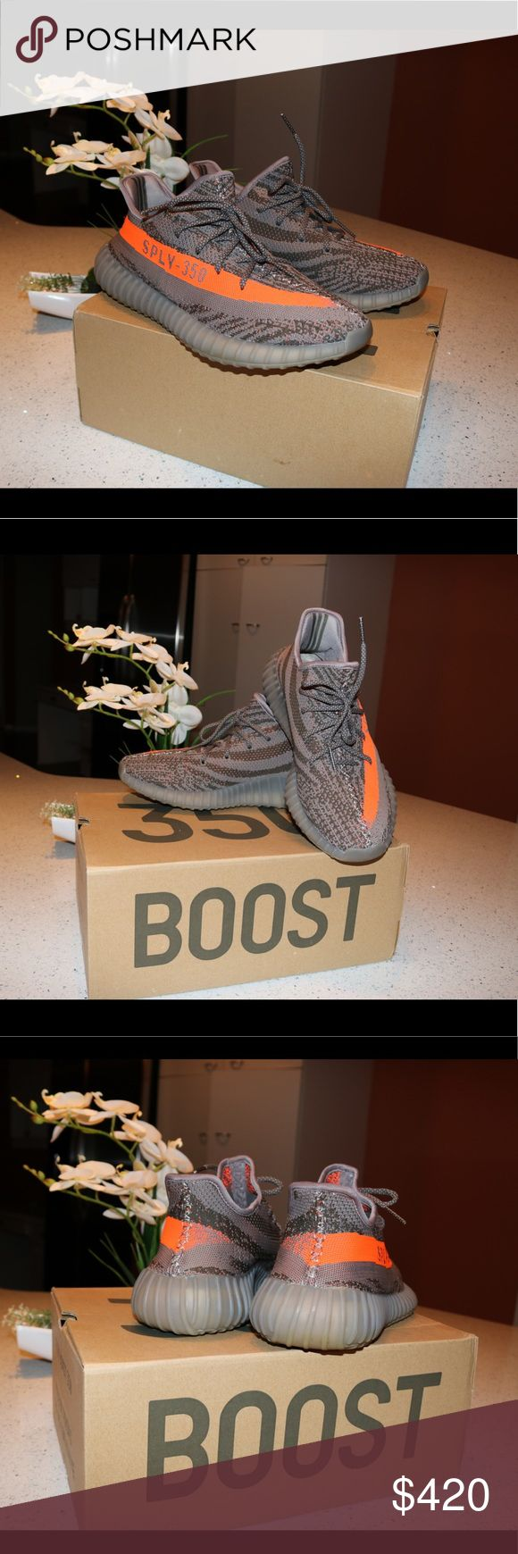Adidas Yeezy Boost 350 V2 Beluga Adidas Yeezy Boost 350 V2 Beluga's (Comes with box) Only worn a few times!! Which is why the price is low Price could be negotiable Yeezy Shoes Sneakers