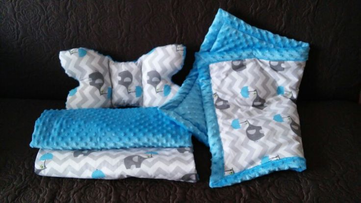 Baby's blankets & butterfly pillow