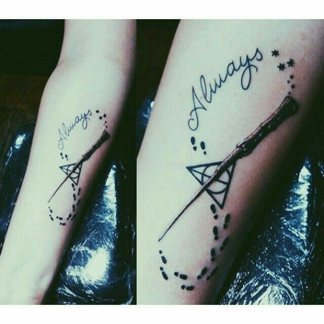 Infinity Sign Harry Potter Always Infinity Tattoo