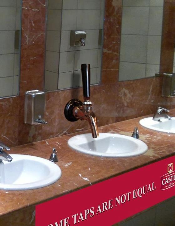Basin Tap creation for Castle Lager