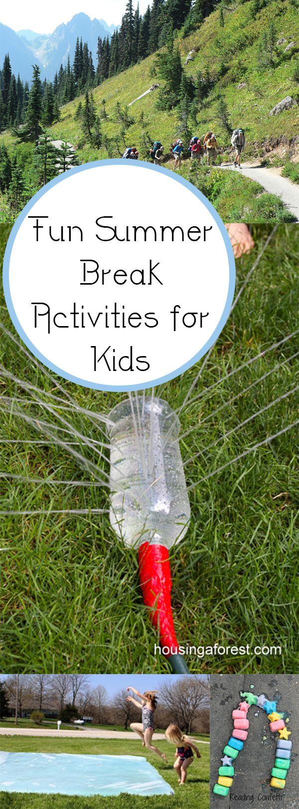Fun Summer Break Activities for Kids