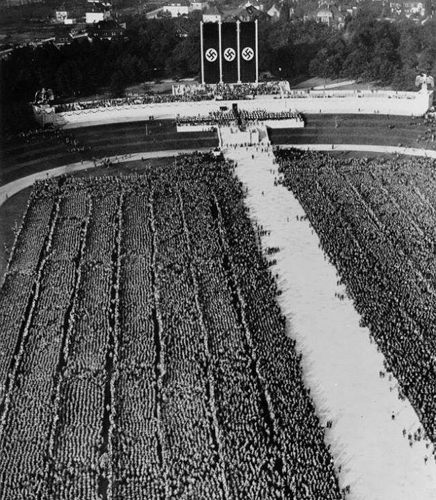 Nuremberg Rally, 1935. http://wrhstol.com/2lOASLW