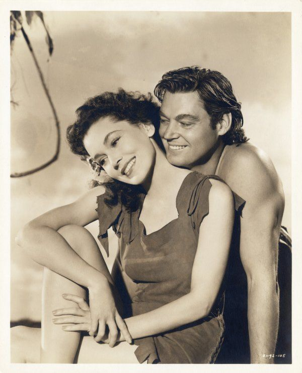 Maureen O'Sullivan & Johnny Weissmuller - (Jane & Tarzan)  OMG  I never missed it.  I think it came on on Sunday mornings.