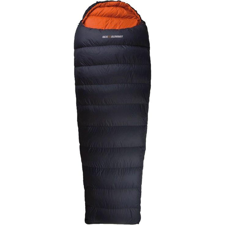 Sea To Summit Trek 3 Series Down Hooded Sleeping Bag 3 season $359 650 loft, 1200 grams. -5 / -11/ -30 rating.