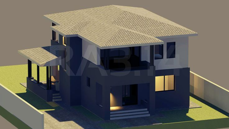by RA3.14 Architecture & Interior Design | Family House | Rendering