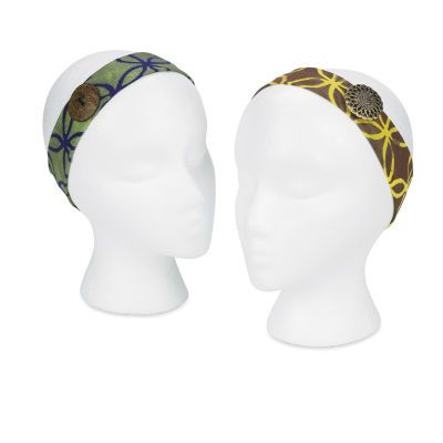 T-Shirt Headband - Show off your stylish side this fall with the latest DIY fashion trends such as these unique T-shirt headbands.