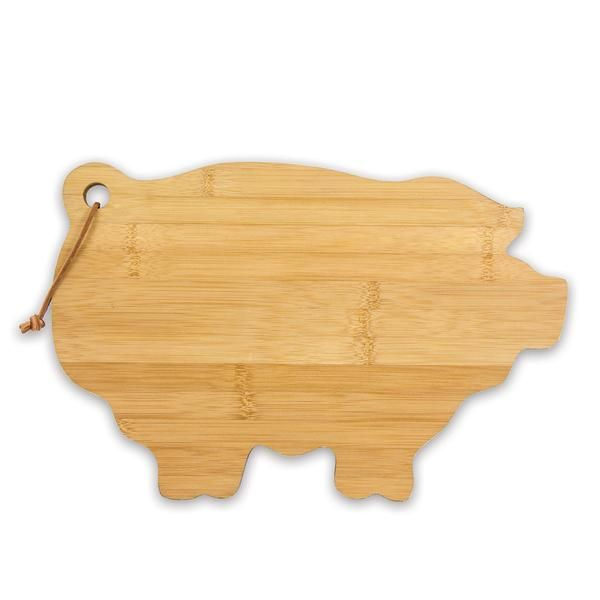 Bamboo Cutting Board, Pig #kitchen #accessories #cuttingboards #decor #home #cooking #food #farmhouse #country #brownlowgifts #brownlow