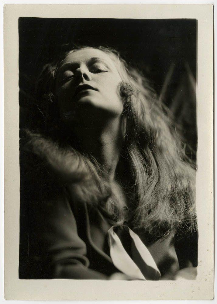 Vintage 1920s Charles Gates Sheldon Artist's Model Posed Deco Glamour Photograph #Vintage
