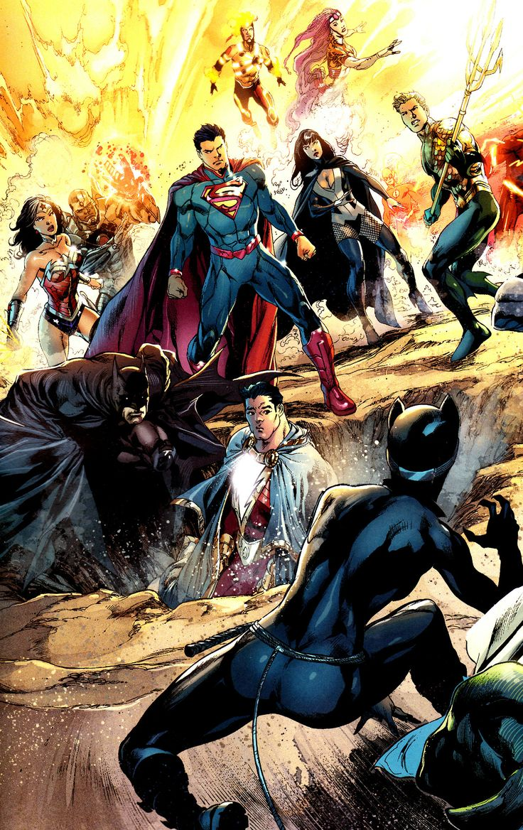 The Justice Tarot Card Meaning In Readings Verdict: Jthenr-comics-vault: Justice League #22 Art By Ivan Reis