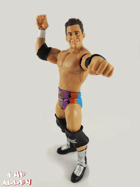 THE ALLEY: MATTEL WWE SERIES 61: ZACK RYDER FIGURE GALLERY  #toys #actionfigures #collectibles #wwe #wrestling #mattel #zackryder #geek