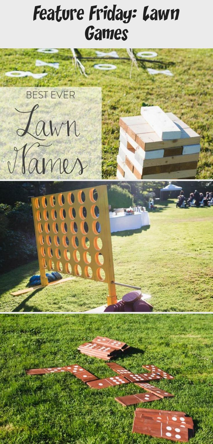 Best ever Lawn Games for Weddings The Inn has a yard in the back and encourages bringing lawn games to play for the reception!! Corn hole, anyone? Haha #gardenweddingPink #gardenweddingTent #gardenweddingHairstyles #Vintagegardenwedding #gardenweddingFood