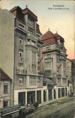 Budapest 1917 - Hotel Esplande Watch the Photo***