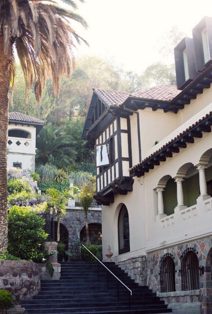Hotel   idyllic half - timbered house The Aubrey Hotel • Santiago , Chile