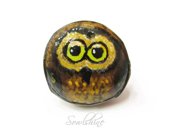 sOWLshine handmade jewelry - owl ring www.sowlshine.blogspot.com