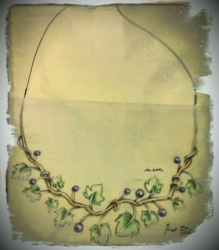 Bilge SAR Aysel jewellery sketches 2003