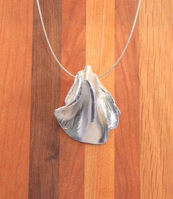 Precious Metal Clay Recycled Fine Silver Draped by coraljoy, $110.00