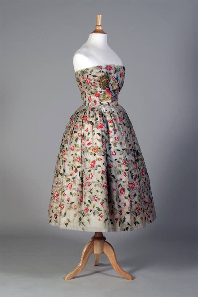 Dress Christian Dior, 1956 Kent State University