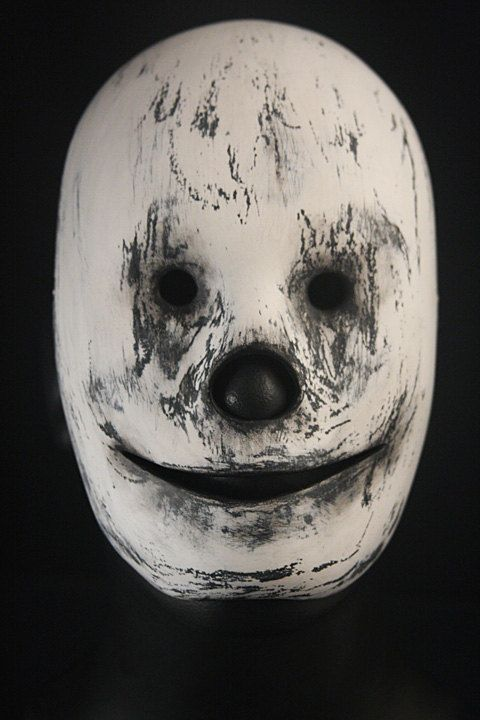 """Handcrafted Unisex Mask """"Sneer"""" Unique Mask Design made with Papier Mâché and passion, styling, Special Occasion, Collectible, creepy Mask"""