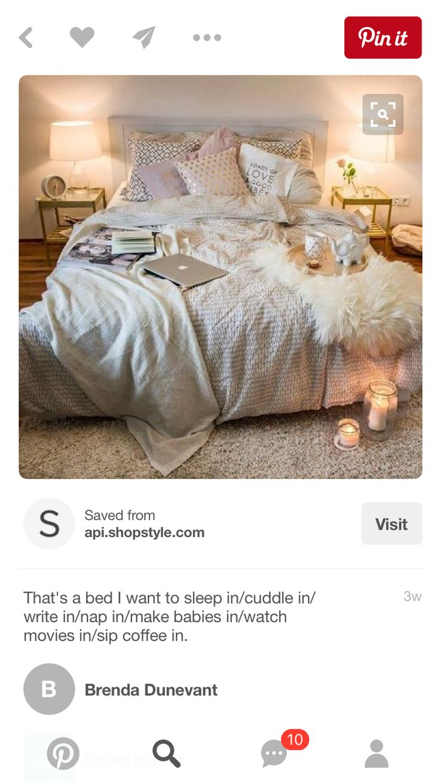 Platform Bed mattress on the floor glamour