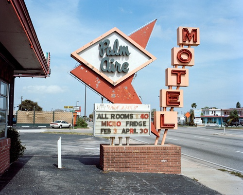 I Love Old Motel Signs They Have Character Pinellas Park Florida February