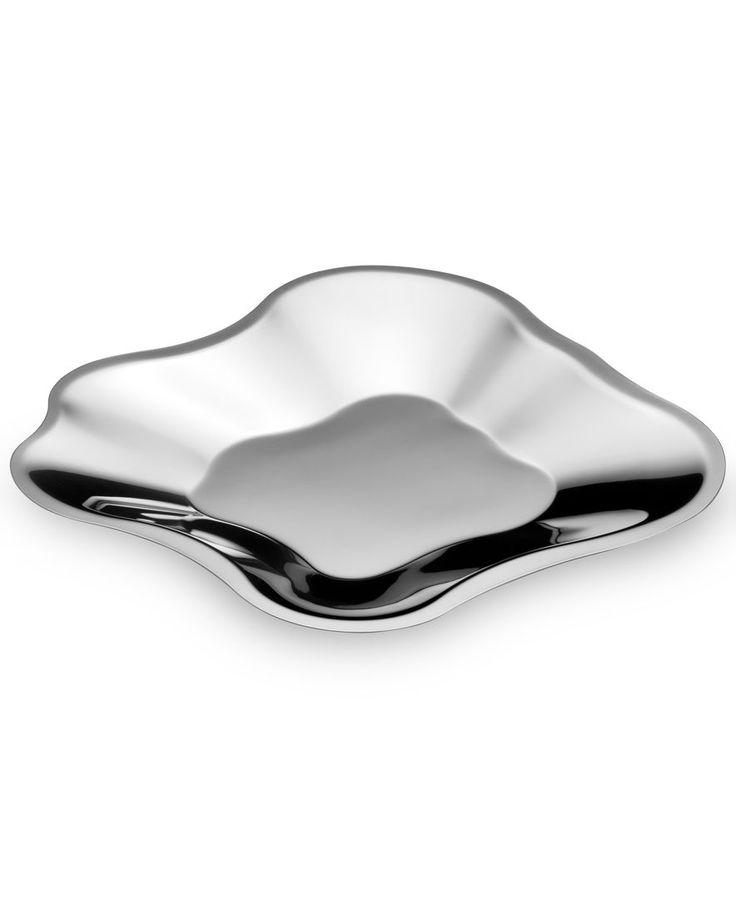 """Iittala Aalto Stainless Steel Tray 12"""""""