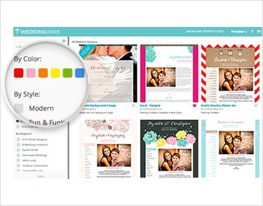 Wedding Websites, Free Wedding Websites - WeddingWire.com - Over 400+ designs in our website design library Preview hundreds of wedding website templates and sort through options based on your wedding color palette, style and invitation design.