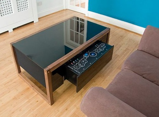 Gaming Coffee Table Computer Room Pinterest Coffee Tables Living Room Desk And Computer