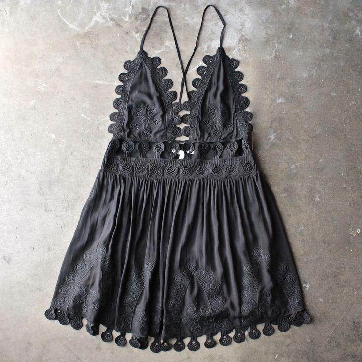 17 Best ideas about Black Summer Dresses on Pinterest | Simple ...