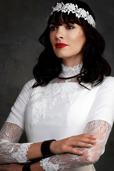 Nouvelle collection 2018 Robe de Mariée  confectionnée sur mesure  #robedemariée #weddingdress #weddinggown #chrisvonmartial #rockbride #bohobride #couture #mariage #mariageboheme