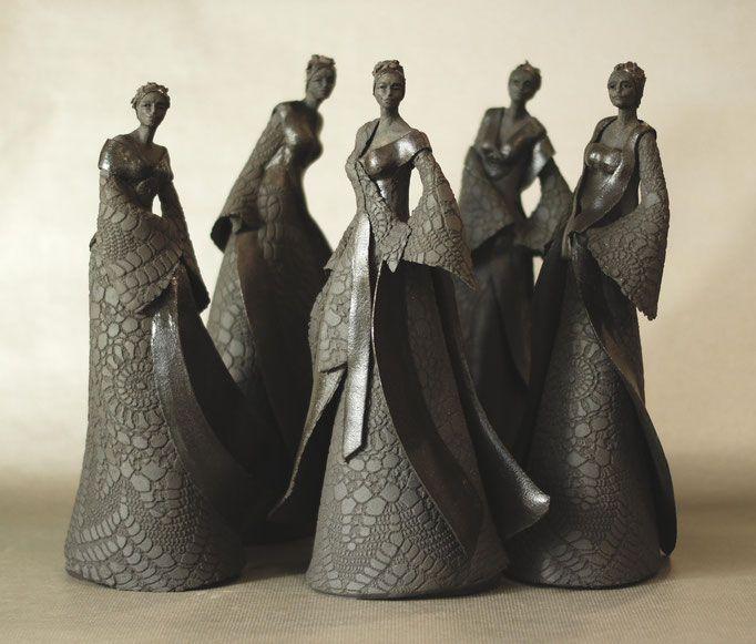 madames - Jeanne-Sarah Bellaiche, Céramiste. Création de céramiques contemporaines en Bretagne.