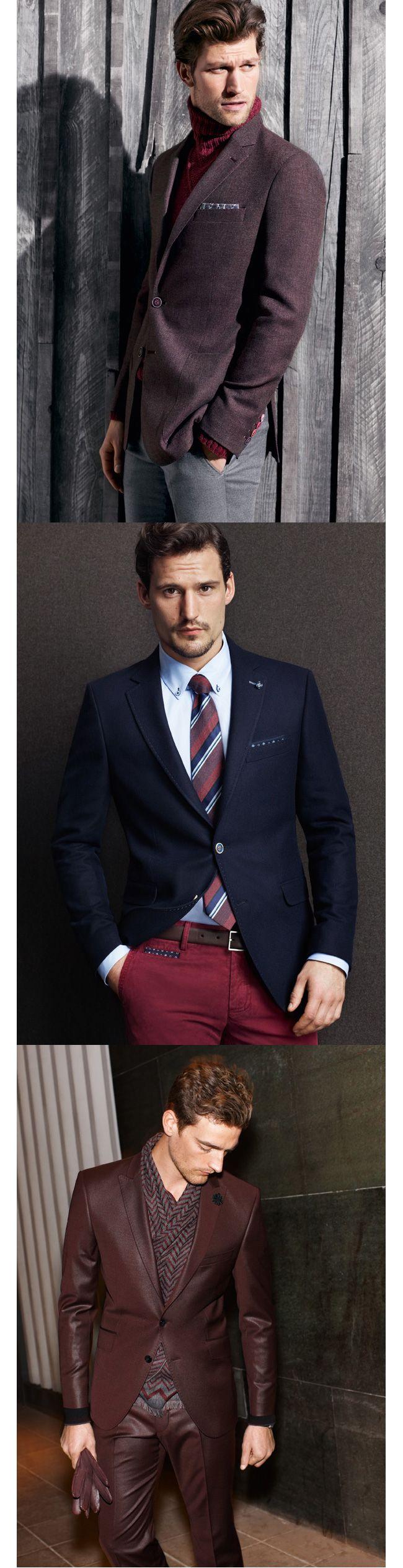 Jeśli seksowny mężczyzna to tylko w garniturze...  http://www.eksmagazyn.pl/moda/sztuka-ubioru/digel-stylowa-meska-jesien || #digel #garnitur #moda męska #seks #jesień