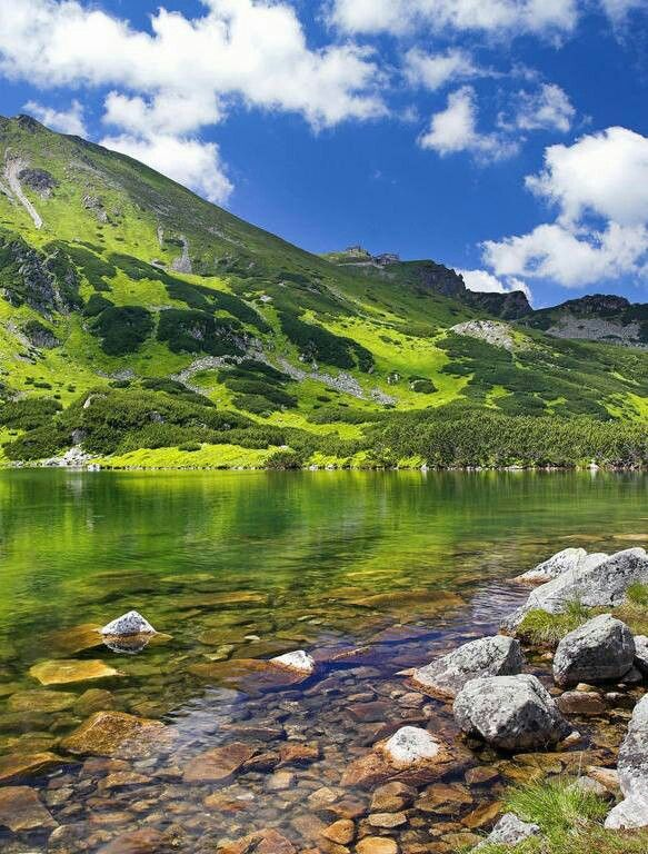 Tatra Mountains. Wow, I would love to go here