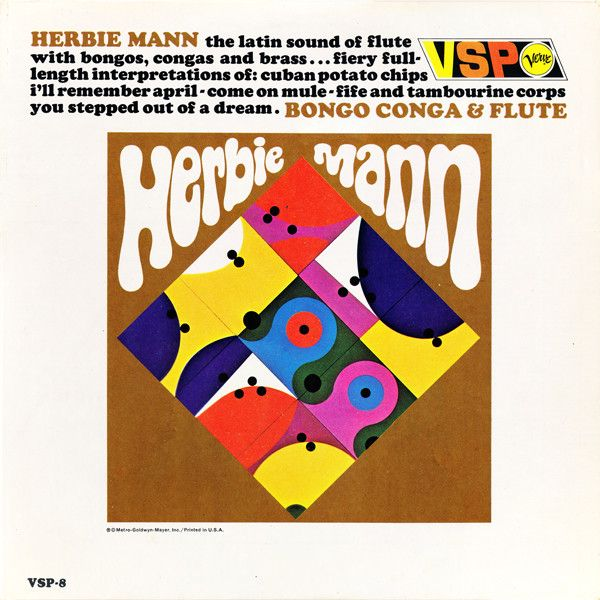 Herbie Mann - Bongo Conga & Flute (Vinyl, LP) at Discogs
