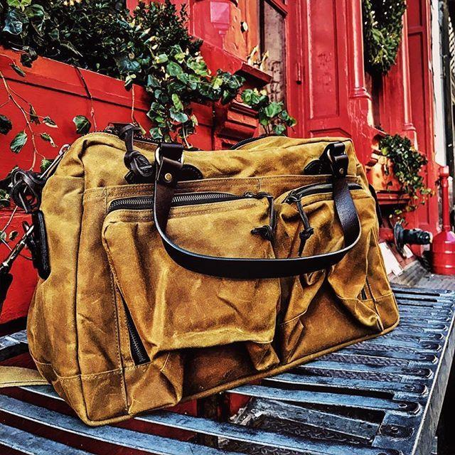 #nyc #noho #filson #filsonbag #jpmuzz #vintage #authentic #usa #seattle #bag #urban #adventure