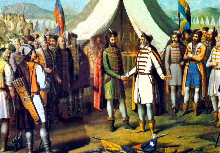 The union between Moldavians and Wallachians (1506).