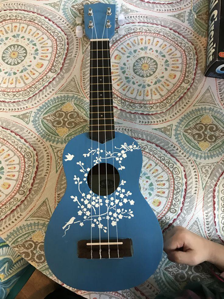 Hand painted kala ukulele