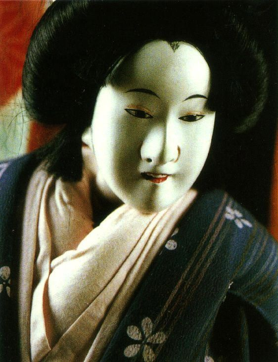 Japanese Puppets Bunraku | ... years bunraku is essentially a puppet play the puppets are one third