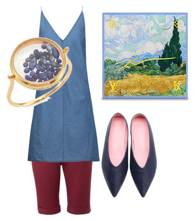 """Amsterdam"" by fishpinochio on Polyvore featuring LE3NO, J Brand, WithChic and Aurélie Bidermann"