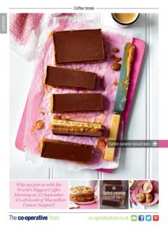Check out this recipe for Salted caramel biscuit from The Co-operative Food Mag…