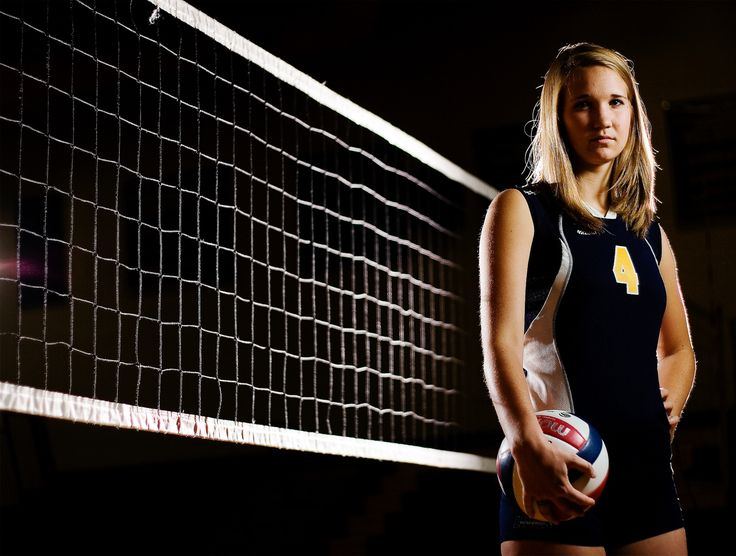 Volleyball Portrait Poses | Senior Portraits - Stark Bellamy Photography