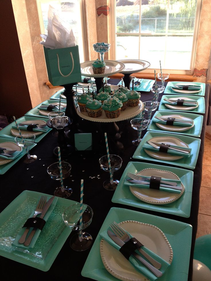 25 Best Ideas About Tiffany Birthday Party On Pinterest